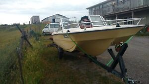 Older boat & trailer package