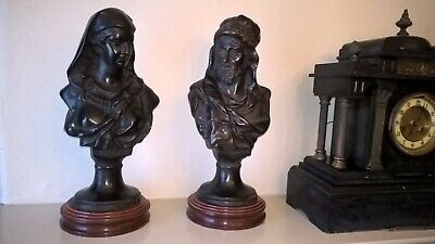 Pair of Classical Greek style Busts - Finest quality item -Great CHristmas gift