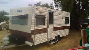 "1982 Roma Caravan 14"" 6 INC. 'free camp setup + Awning + extras Thompson Beach Mallala Area Preview"