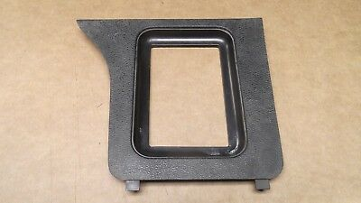 Shifter Console Auto Stick (★★1979-86 MUSTANG GT BLACK CENTER CONSOLE AUTOMATIC SHIFTER BEZEL TRIM)