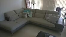 L Shaped Sofa with terminal. Hoxton Park Liverpool Area Preview