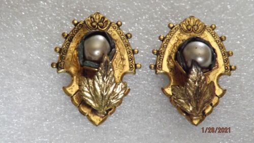 Pair of Victorian / Edwardian Dress Clips