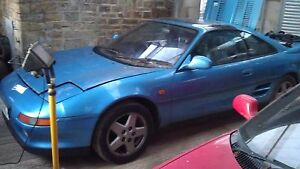 TOYOTA MR2 MK2 2.0 GTI 16v blue BREAKING
