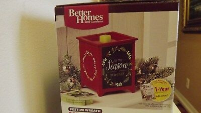 Better Homes And Gardens Scented Wax Warner Candle Festive Christmas
