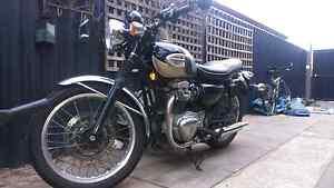 Kawasaki W650  2001. Orelia Kwinana Area Preview