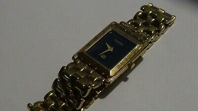 "Mens 90's Vintage Gucci 4200M GT watch runs G8T,, (fits 7.25"" wrist)"