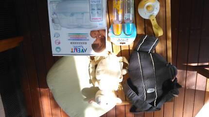 Baby Bottle steriliser and other items