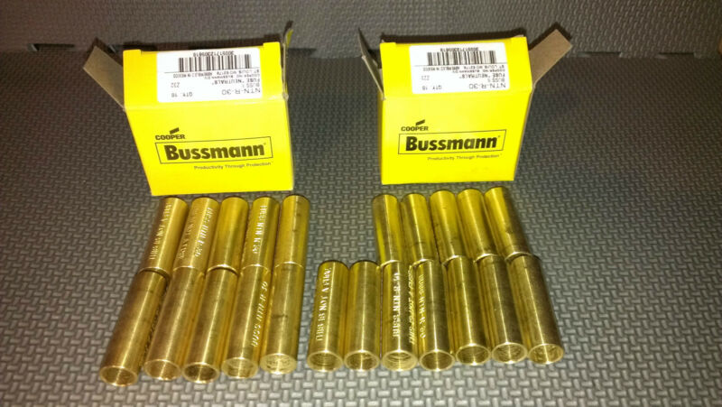 bussmann link ntn-r-30 lot (10) NEW