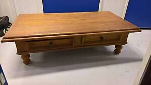 Wooden Coffee Table Greenacre Bankstown Area Preview