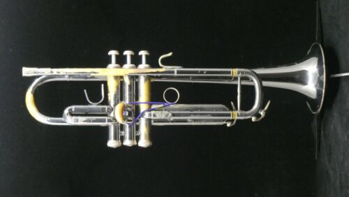Cannonball Big Bell Stone Series Bb Trumpet in Nickel Plate with Jasper Accents