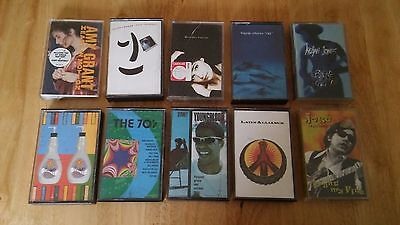Job Lot of 10 great Rock Pop Britpop Indie Cassette Albums £4.99 FREEPOST UK!