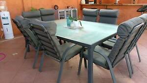 8 Seater Outdoor Dining Table & Chairs Wandi Kwinana Area Preview