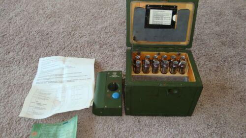 VINTAGE GERMAN ARMY TACTICAL RADIATION DOSIMETER MILITARY STRAHLENDOSIMETER