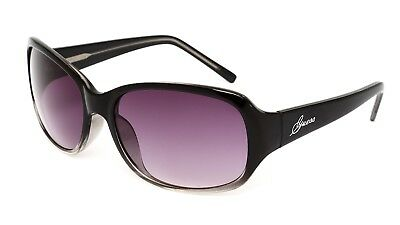 GUESS Women's Black Clear Sunglasses 0454