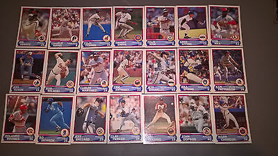 Baseball Cards By Score Various Players Lot Of 21 Mlb