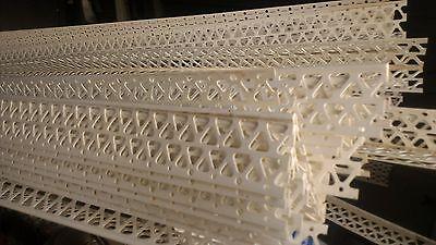 200 10ft Plastic Corner Beads 1.25 Each