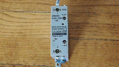 Lot Of 6 Omron G3pa-210b-vd Solid State Relay 5-24vdc 10a 657