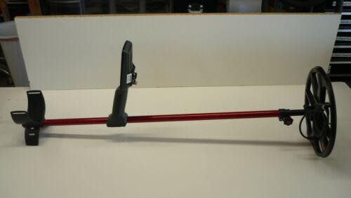"Plugger ""Red"" 34"" Equinox Telescoping Carbon Fiber Detector Shaft"