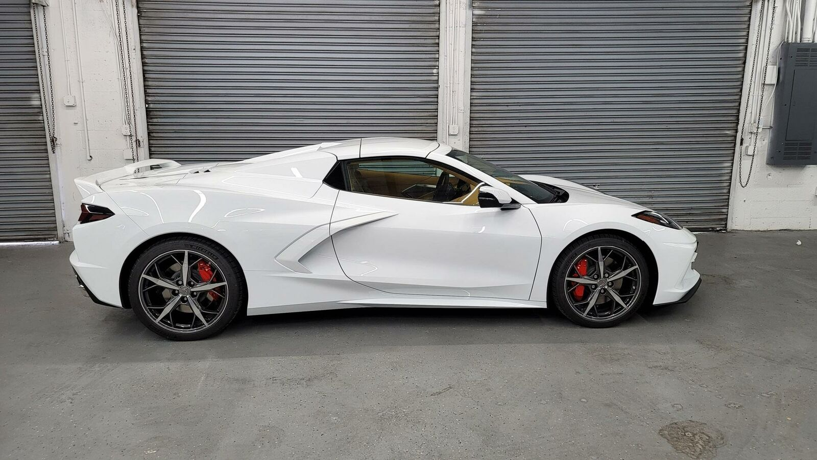 2021 White Chevrolet Corvette  3LT | C7 Corvette Photo 8