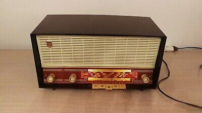 RADIO PHILIPS MODELO B3F01A, 1960, EXCELENTE FUNCIONAMIENTO, VER VIDEO Y FOTOS, usado segunda mano  Teruel