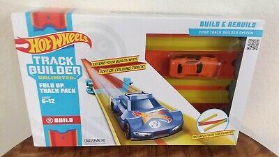 Hot Wheels Track Builder Unlimited Fold Up Track Pack NIB