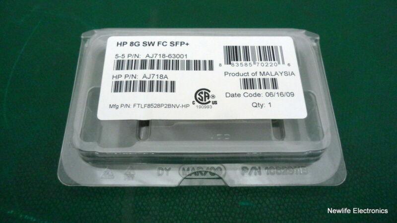 Hp 468508-001 8gb Short Wave Fc Sfp Tranceiver Module 5697-7264 Aj718a