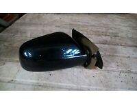 PEUGEOT 307CC 307 cc POWERFOLD O//S DRIVER/'S SIDE WING MIRROR DARK RED
