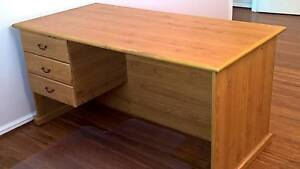 Desk with 3 Drawers Dianella Stirling Area Preview