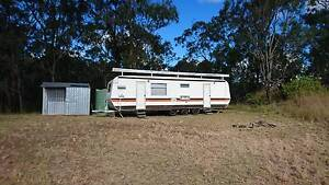 Renovated 80's Chesney 'Sheraton' 33ft Tri-axle Caravan Moogerah Ipswich South Preview