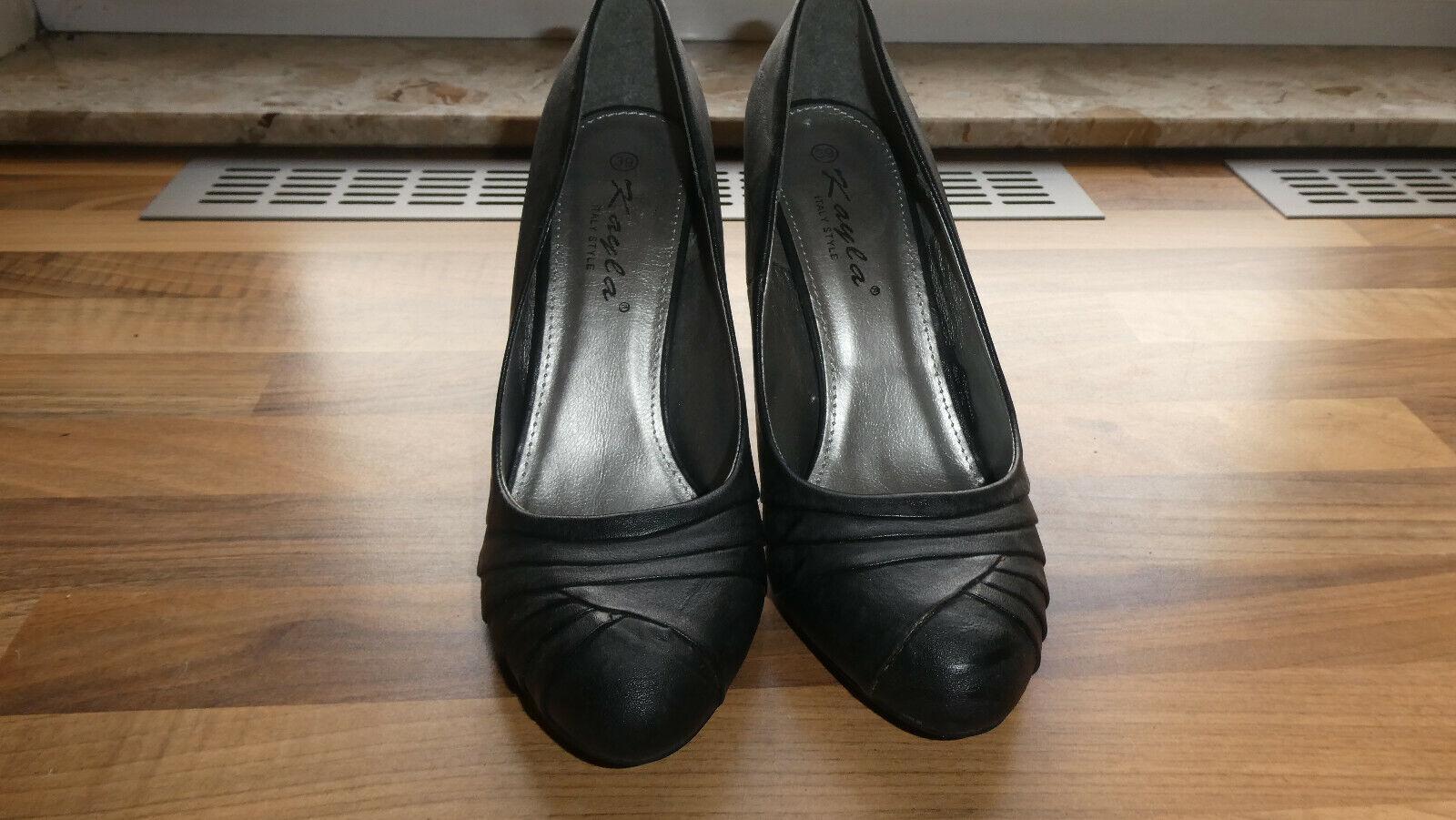 Tanzschuh Damen Schuhe schwarz Gr. 39 sehr elegant neu ohne Karton Modell Kayla