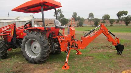 Backhoe Model B7 for tractor 25-45hp Balliang East Moorabool Area Preview