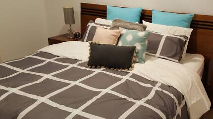 KING SIZE BED - SOLID TIMBER