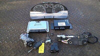 Volkswagen VW Passat B5 MK5 Estate 1.9 TDI ECU BCM Lock Set Ignition Keys '04'