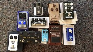 Guitar Effects Pedals REDUCED (Wampler, Lovepedal, Zvex...)