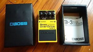 BOSS ODB-3 Bass Overdrive Five Dock Canada Bay Area Preview