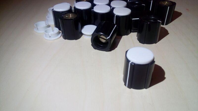 20pcs High Quality Swiss Made ELMA Collet 17mm x 16mm/4mm shaft Knob & Cap