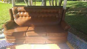 Chesterfield Sofa - Brown Colour Coorparoo Brisbane South East Preview