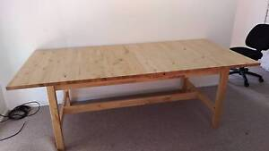 "Extendable Table, IKEA Norden in ""as new"" condition. Engadine Sutherland Area Preview"
