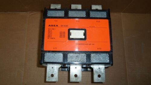 New ASEA EH630 Contactor Starter 3 Phase 600kW 660v Ith 1000 Amp 120v AC Coil