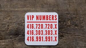 Super easy to remember repeating phone numbers