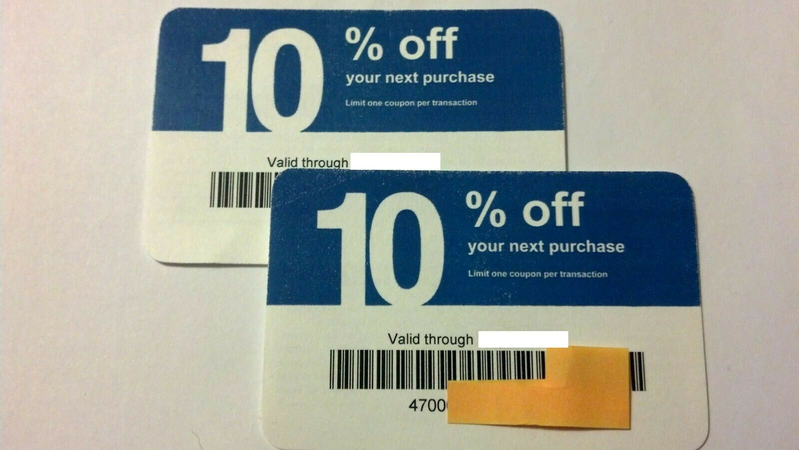 Twenty 20 Lowes 10 Competitors Coupons For Home Depot Expires August 2021 - $10.40