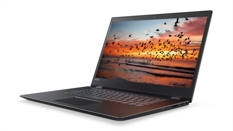 "Lenovo 2-in-1 15.6"" Touch-Screen Laptop Intel Core i5 8GB Memory 256GB Solid State Drive Onyx Black 81CA000TUS"