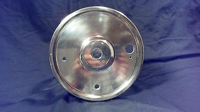 Triumph motorcycle vintage rear wheel brake drum cover (Vintage Motorcycle Wheels)