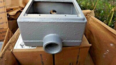 New Appleton Fdc-2-75 34 Malleable Iron 2-34 Deep 2-gang Fs-fd Cd Box