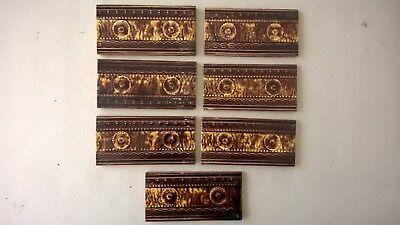 7 fireplace Tiles.   .stock item tiles W008
