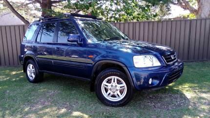 1999 Honda CRV 4x4 5-speed FEB-REGO SUNROOF AR-CON Wagon
