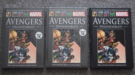 3x Marvel Avengers Disassembled 34, hardcover comic collection