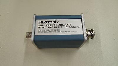 Tektronix Tek 015-0407-00 Subcarrier Harmonic Rejection Filter For 067-0916-00