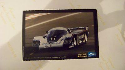 CARD LE MAINE : LE MANS WINNERS - PORSCHE 956 1982