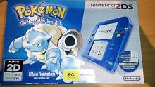 BRAND NEW in box Pokemon Blue Version 2DS Collector's Edition Abbotsbury Fairfield Area Preview